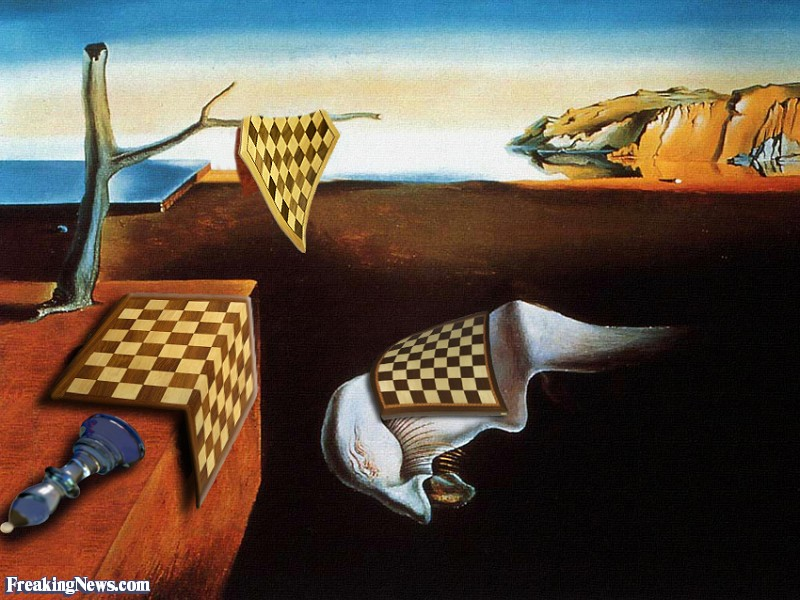 The Persistence of Chess by Dali 88728